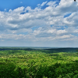 One of the grand views from Morrow Mountain