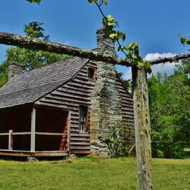 Dr. Kron's Cabin (onsite at Morrow Mtn. State Park)