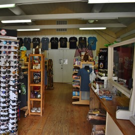 The store has plenty of gifts and other items.