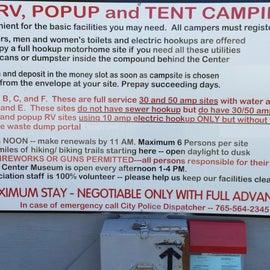 Campground info