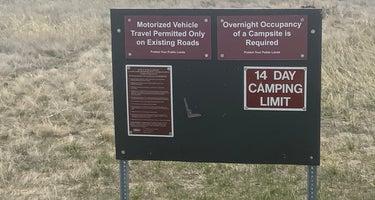 Confederate Disperse Camping Area