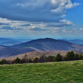 One of the MANY views from Max Patch
