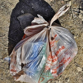 """As I always say, """"Leave a campsite better than what you found it.""""  This was only a scratch on the surface as far as picking up trash."""