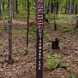Although this trail was for hikers, there are other trails for biking, horses, ATVs, etc.