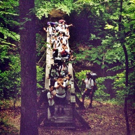 On an earlier backpacking trip to this national forests, I was helping lead a boys' group for Junior Training Trails.
