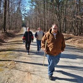 Taking the Reedy Creek Multi-Use Trail
