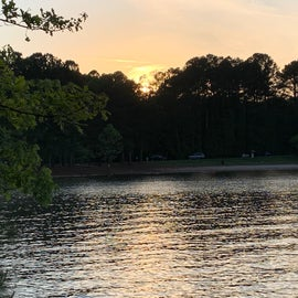 lake view from the spot