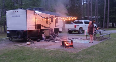 Jeff Davis County Towns Bluff Park RV Park and Campground