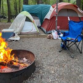 Large tent pad
