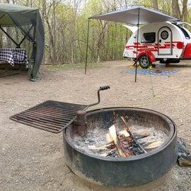The camp setup