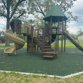 playground at the welcome center