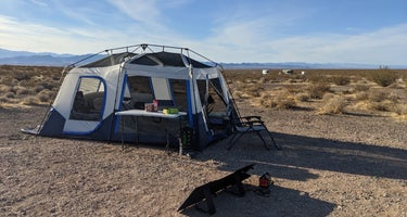 BLM dispersed camping west of Valley of Fire