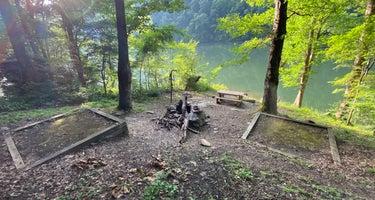 Calderwood Lake Primitive campground