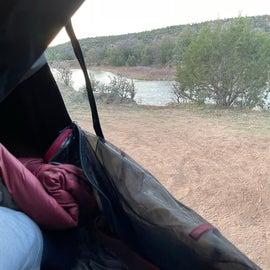 dispersed campsite B