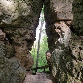 The Keyhole heading towards Treasure Cave