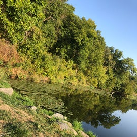 A corner of the lake