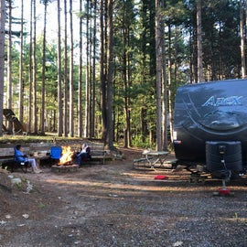 our May 2021 camping trip with our grandson at Holiday Camping Resort.