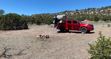 Six Mile Canyon - Dispersed Camping