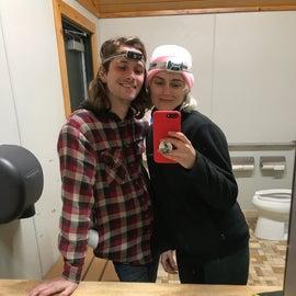 bathroom selfie!!