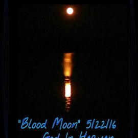 First blood moon I had ever saw