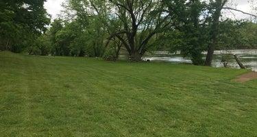 Camping on The New River, Blacksburg VA