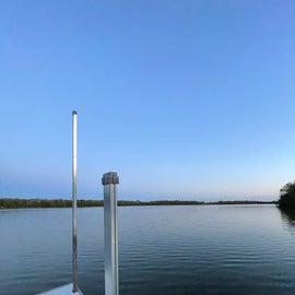 lake imogene from the dock