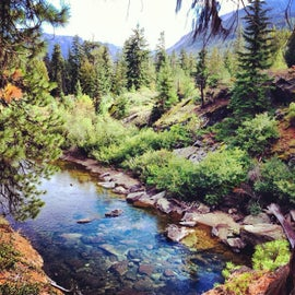 Icicle Gorge Trail - short drive from Ida Creek Campground