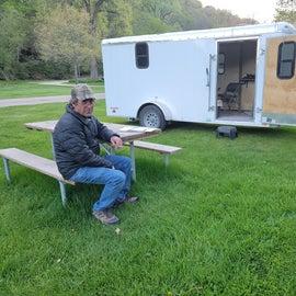 our campsite 124