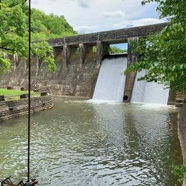 Standing Stone CCC Dam