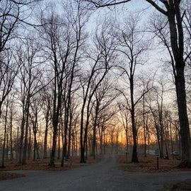 Sunrise in non-electric