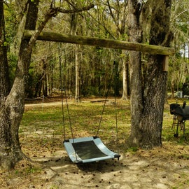 """There is a swing, which could be another """"recreational"""" opportunity."""