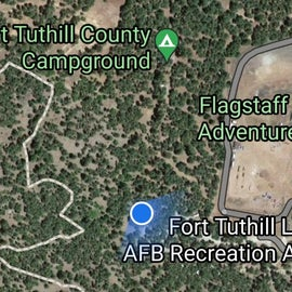 2 campgrounds 1 military 1 county