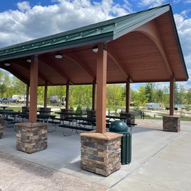 Pavilion for groups - playground is adjacent