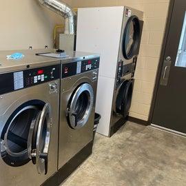 Nice laundry facilities