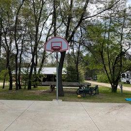 basketball court, outdoor activities pavilion