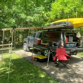 Tacoma with ARB Awning