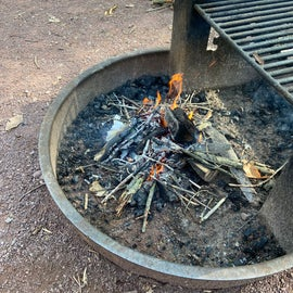 loved the grill attached to the firepits