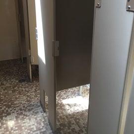 Ladies shower rooms