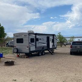 our campsite #20