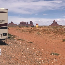View from the camper doorstep!