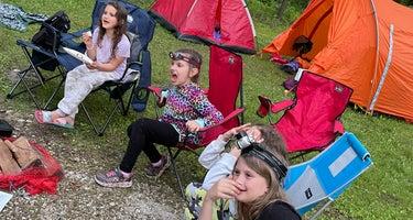Potowatomi Campground at Kankakee River State Park