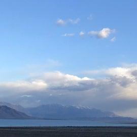 Beautiful view of Utah Lake and Mt. Timpanogas