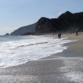 Sycamore Cove Beach, right across from the campground