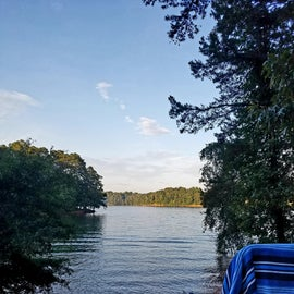 Lake Hartwell in the morning.  Site #10
