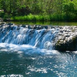 Little Niagara Falls was smaller than expexted!