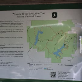 15 mile Two Rivers Trail with disperses camping
