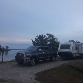 Perfect campsite