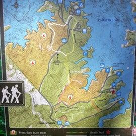 Many hiking trails