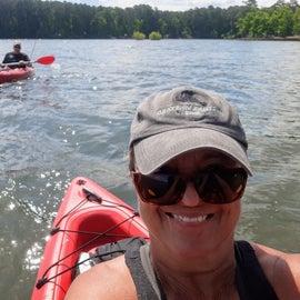 Great kayaking here