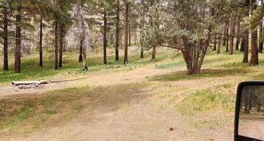 Fishlake National Forest Oak Creek Rec Site